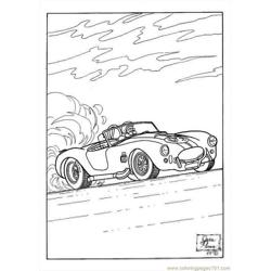 S Pages Photo Race Car Dl7954 Free Coloring Page for Kids