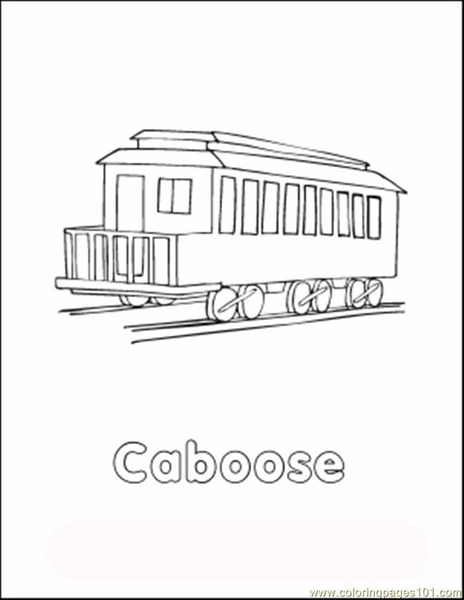 Traincolor2 Coloring Page