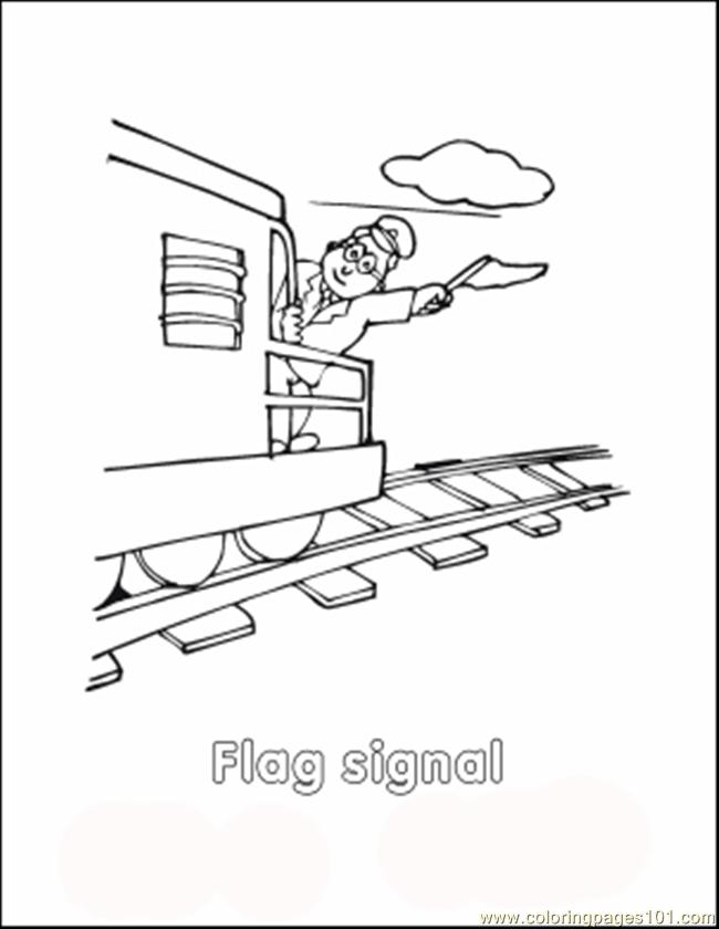 Traincolor9 Coloring Page