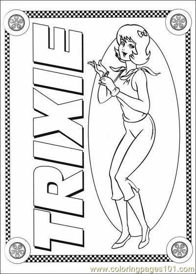Speed Racer Coloring3 Coloring Page