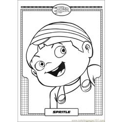 Speed Racer 09 Free Coloring Page for Kids