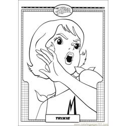 Speed Racer 13 Free Coloring Page for Kids
