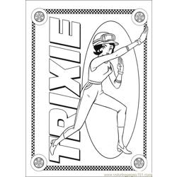 Speed Racer 29 Free Coloring Page for Kids