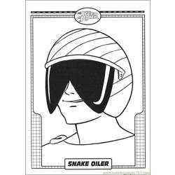 Speed Racer 31 coloring page
