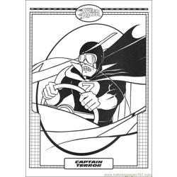 Speed Racer 36 coloring page