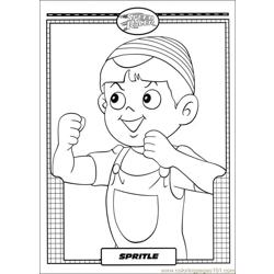 Speed Racer 41 Free Coloring Page for Kids