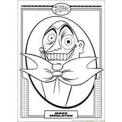 Speed Racer 43 coloring page