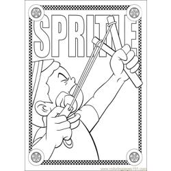 Speed Racer 45 Free Coloring Page for Kids
