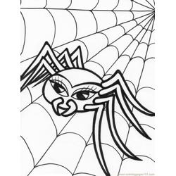 Spider new 45 Free Coloring Page for Kids