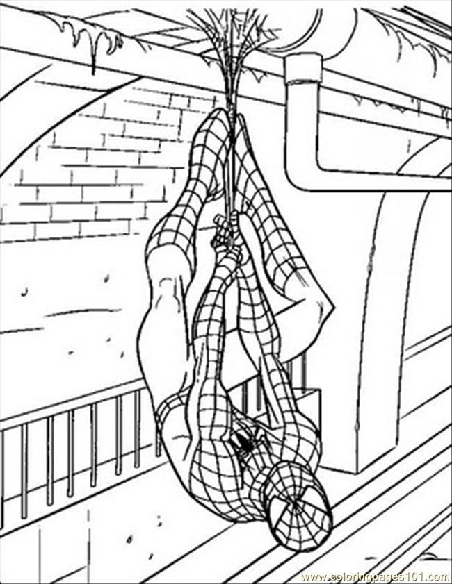 Spiderman%2bcoloring%2b(48) Coloring Page