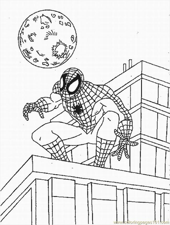 Rman Venom Coloring Pages Lrg Coloring Page