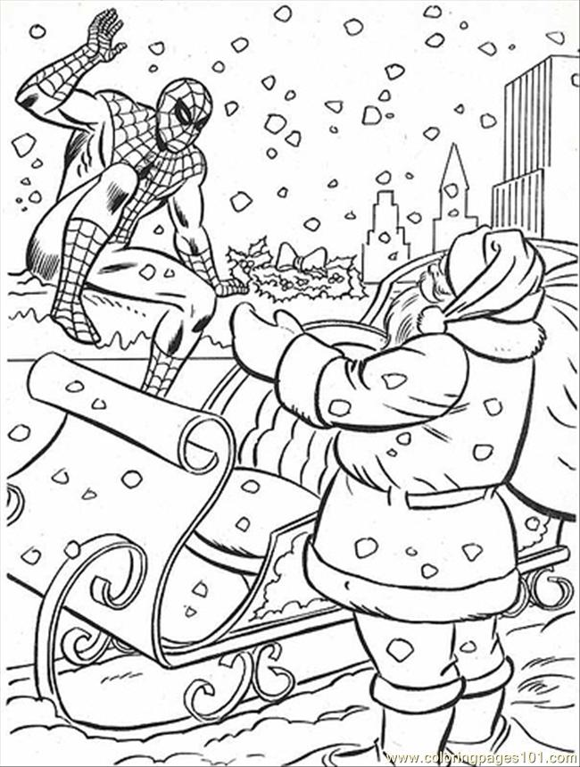 Spiderman4 Coloring Page