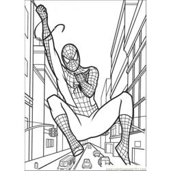 Hanging On The String Free Coloring Page for Kids
