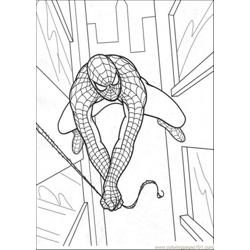 Jump To The Building Free Coloring Page for Kids