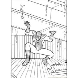 Spiderman Holds That Iron