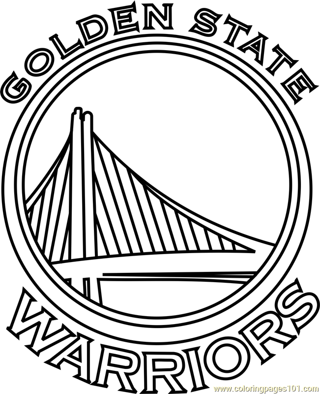 Golden State Warriors Coloring