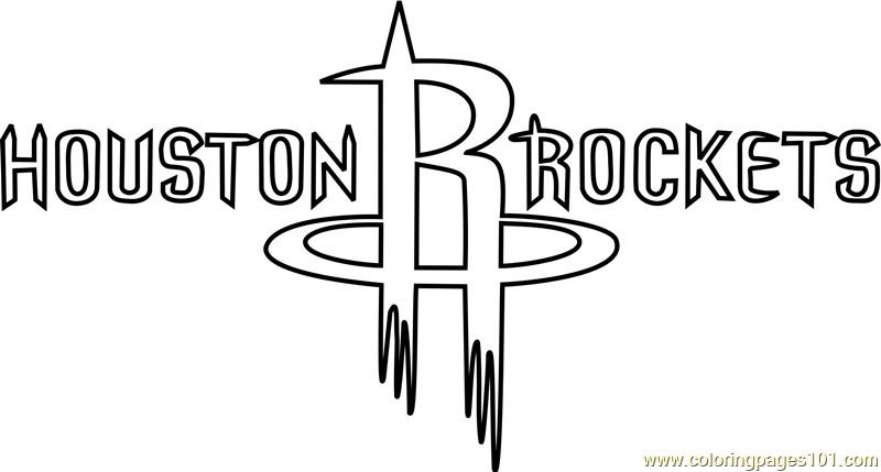 Houston rockets coloring page free nba coloring pages for Indiana pacers coloring pages