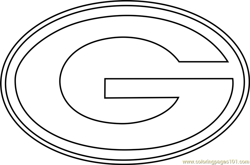 Green Bay Packers Logo Coloring Page - Free NFL Coloring Pages ...