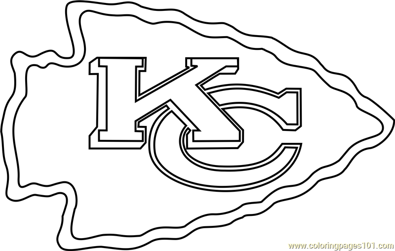 Kansas City Chiefs Logo Coloring