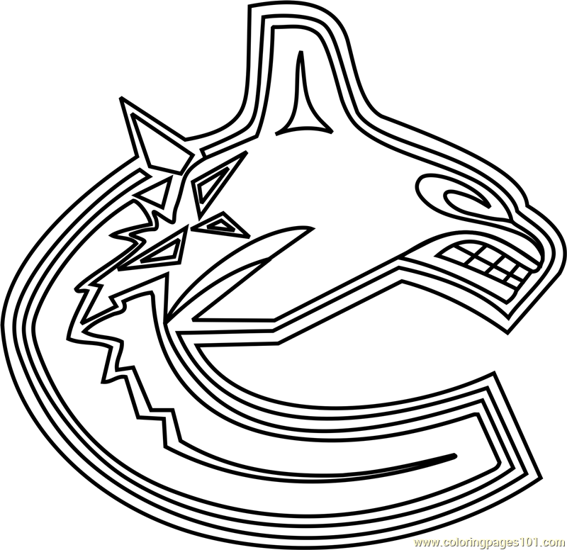 calgary flames logo coloring pages - photo#13