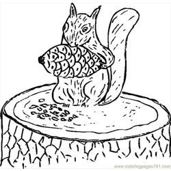 Squirrel Eating Pine Cone.svg.hi