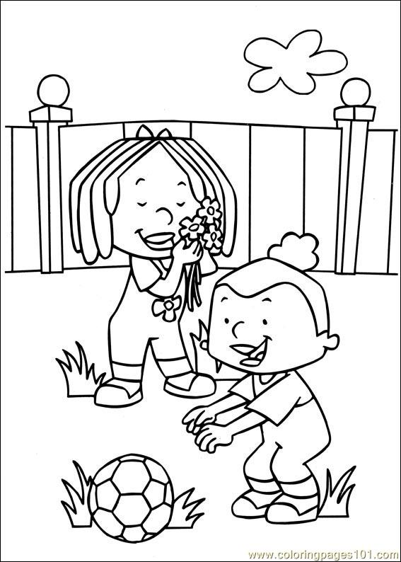 Stanley 02 Coloring Page