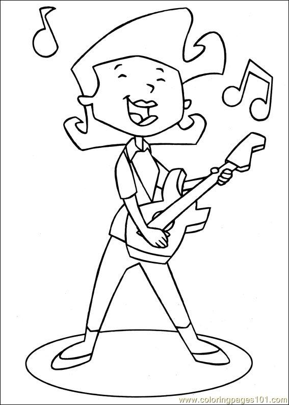 Stanley 08 Coloring Page