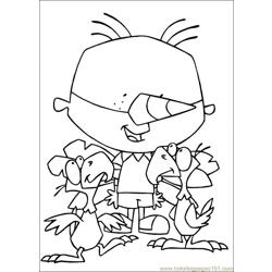 Stanley 19 coloring page