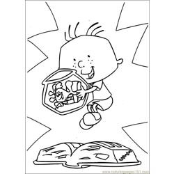 Stanley 22 Free Coloring Page for Kids