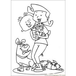 Stanley 23 Free Coloring Page for Kids