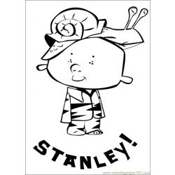 Stanley 26 Free Coloring Page for Kids