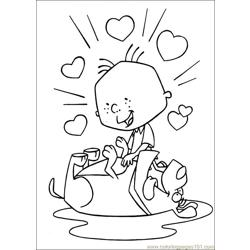 Stanley 27 Free Coloring Page for Kids