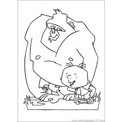 Stanley 28 Free Coloring Page for Kids