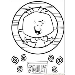 Stanley 30 coloring page