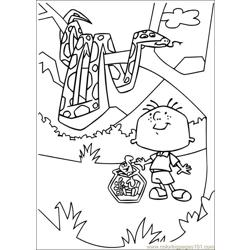 Stanley 31 Free Coloring Page for Kids