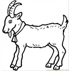 Capricornus Free Coloring Page for Kids