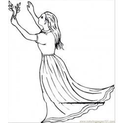 Virgo Free Coloring Page for Kids