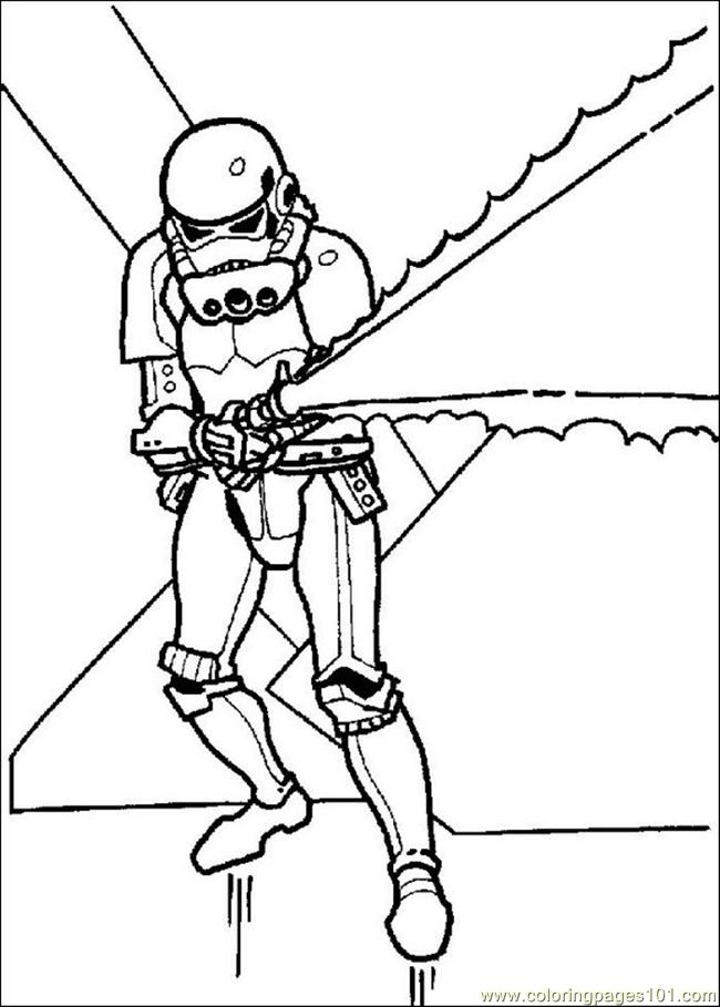 Star Wars Coloring Pages 015 Coloring Page Free Star Wars Coloring