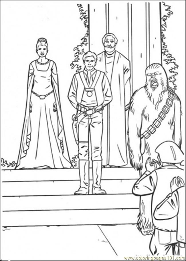 In The Ceremony 2 Coloring Page