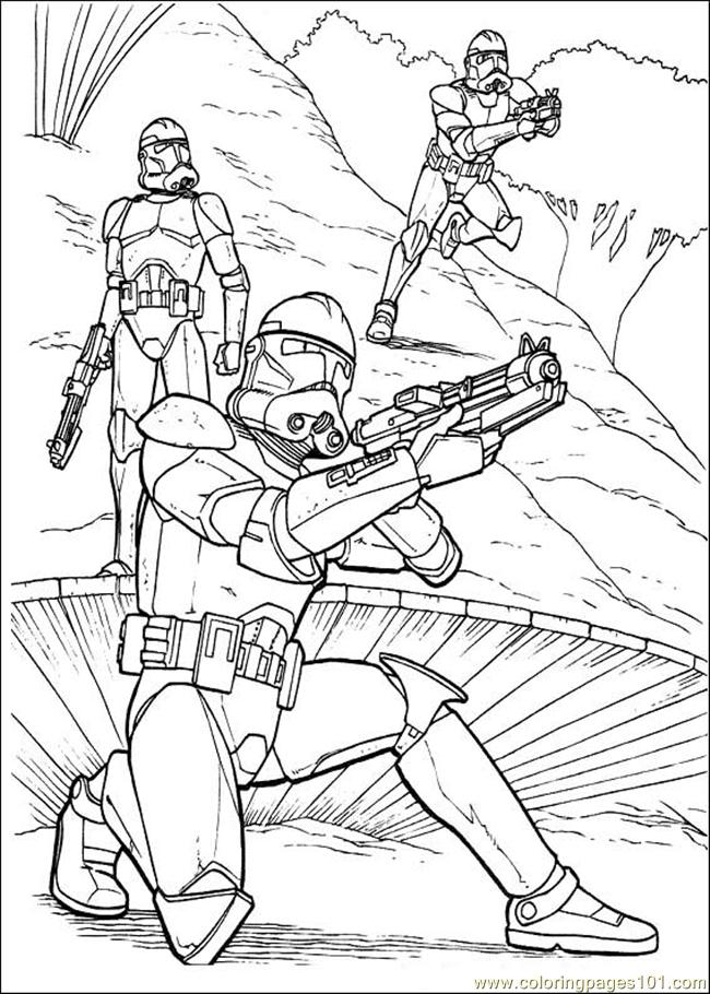 Starwars 02 Coloring Page
