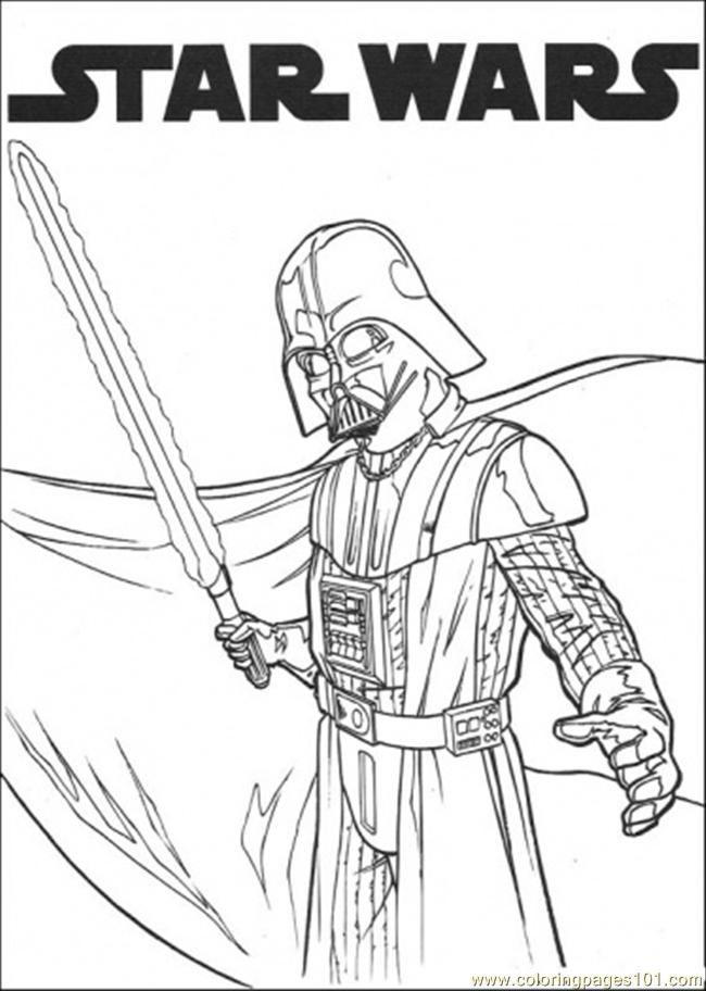 Star Wars 1 Coloring Page