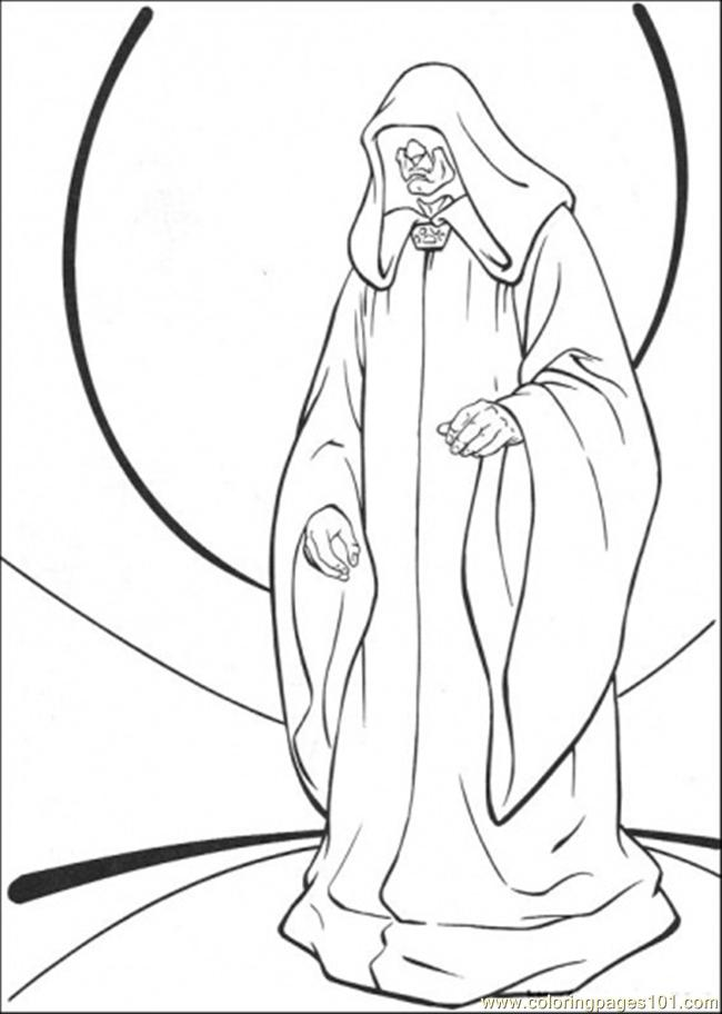 Star Wars Character 8 Coloring Page