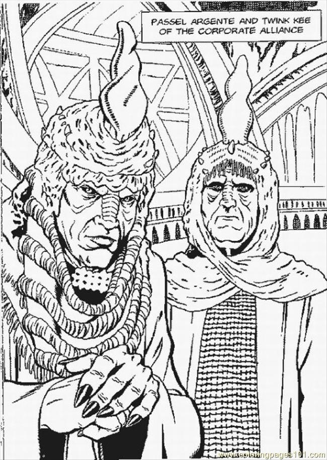 Star Wars Coloring Pages Lrg Coloring Page