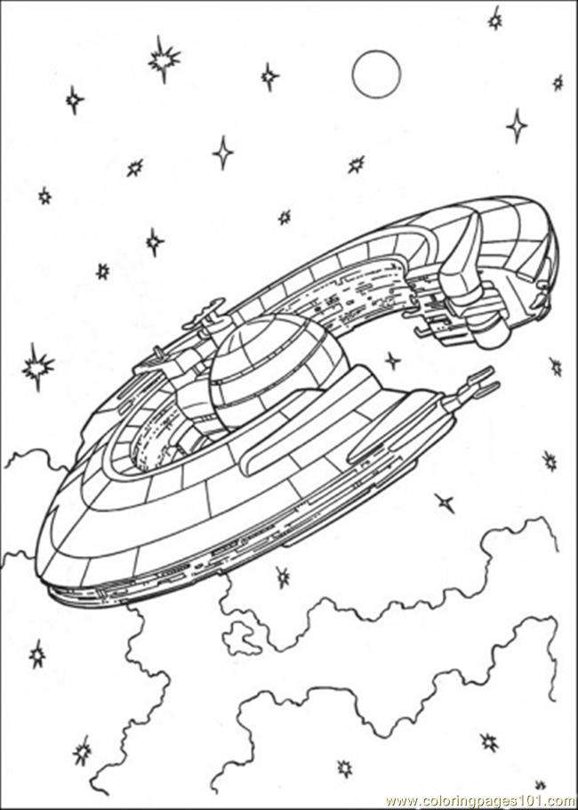 Star Wars Ship 3 Coloring Page - Free Star Wars Coloring Pages ...