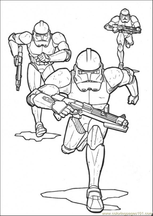Star Wars Troops Coloring Page Free Star Wars Coloring