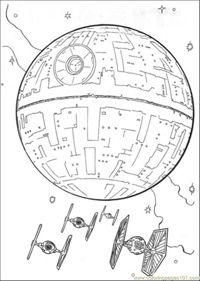 The Spaceship Coloring Page