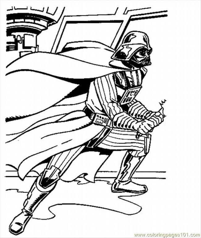 Th Vader Coloring Pages 2 Lrg Coloring Page  Free Star Wars