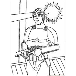 Star Wars Coloring Pages 007 Free Coloring Page for Kids