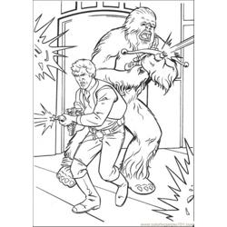 Shot The Gun Free Coloring Page for Kids