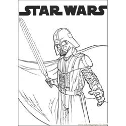 Star Wars 1 Free Coloring Page for Kids